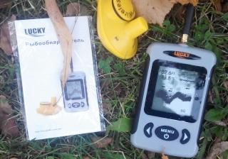 эхолот lucky ff918-c180wd portable скат цветной